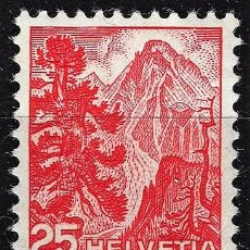 Timbres: 1948 SUIZA MICHEL MI 501 YVERT YT 464 MNH** NUEVO SIN CHARNELA - PARQUE NACIONAL GRISONS. Lote 165620182