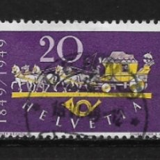 Sellos: SUIZA 1949 USADO SC 325-327 (3) 7.55 - 5/32. Lote 165734754