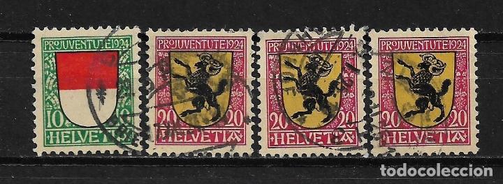 SUIZA 1924 USADO - 5/32 (Sellos - Extranjero - Europa - Suiza)