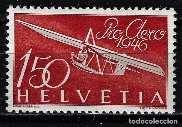 1946 SUIZA MICHEL MI PA 40 YVERT YT PRO AEREO 40 MLH* NUEVO CON CHARNELA - (Sellos - Extranjero - Europa - Suiza)