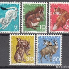 Sellos: SUIZA, 1966 YVERT Nº 778 / 782 /**/ . Lote 167164976