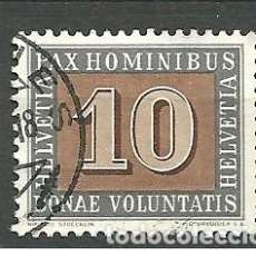 Sellos: YT 406 SUIZA 1945. Lote 167860757