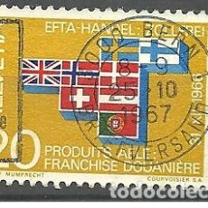 Sellos: YT 785 SUIZA 1967. Lote 167900268