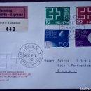 Sellos: SOBRE DE PRIMER DÍA DE SUIZA 1963, EXPOSICIÓN NACIONAL LAUSANA. Lote 168317026