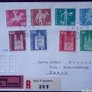Sellos: SOBRE DE SUIZA 1963, EUROPA. Lote 168317208