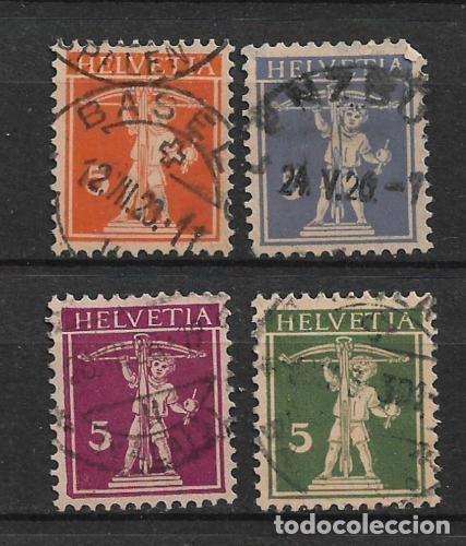 SUIZA 1911-30 USADOS- 5/43 (Sellos - Extranjero - Europa - Suiza)