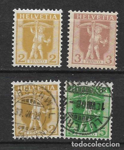 SUIZA 1909 USADOS - 5/43 (Sellos - Extranjero - Europa - Suiza)