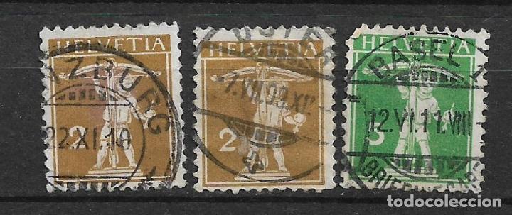 SUIZA 1909 USADO - 5/43 (Sellos - Extranjero - Europa - Suiza)