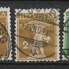 Sellos: SUIZA 1909 USADO - 5/43. Lote 168345404