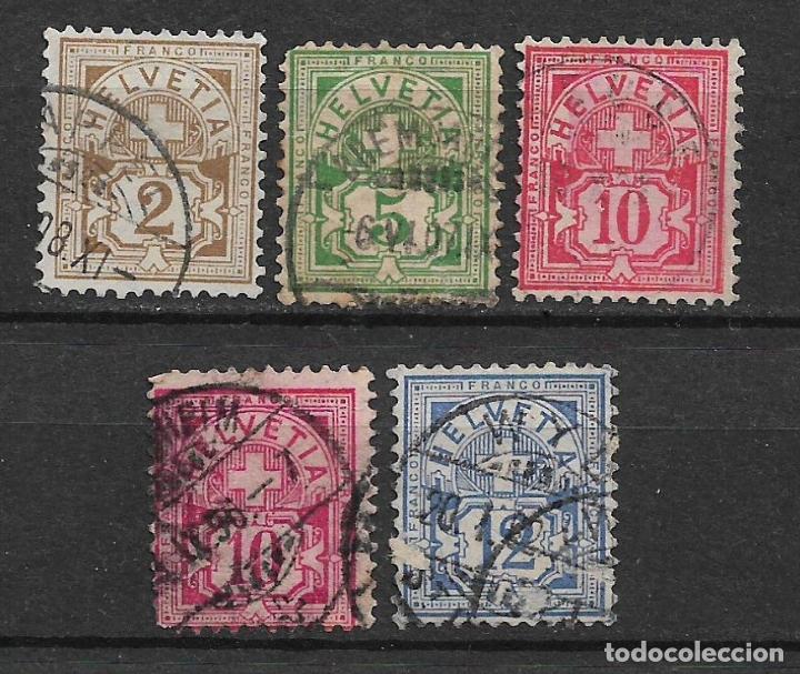 SUIZA 1905 USADO - 5/43 (Sellos - Extranjero - Europa - Suiza)