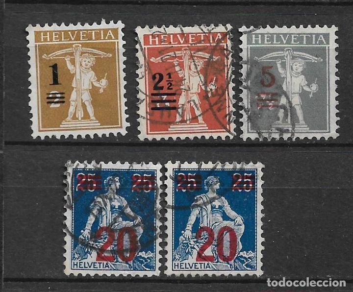 SUIZA 1921 USADO - 5/43 (Sellos - Extranjero - Europa - Suiza)