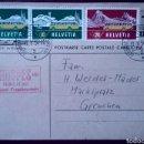 Sellos: CARTA POSTAL SUIZA 1954. Lote 168503500