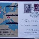 Sellos: CARTA POSTAL CONMEMORATIVA DEL DÍA DEL SELLO, SUIZA 1950, PRO-JUVENTUD. Lote 168506288