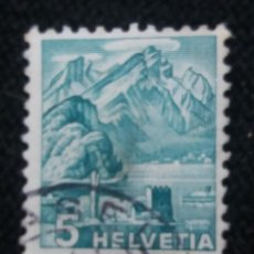 Sellos: SUIZA, HELVETIA, 5, AÑO 1937.. Lote 168622692