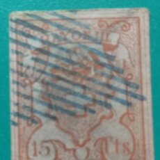 Sellos: SUIZA 1852. RAYON III 15 CTS. YVERT 24.. Lote 169770917