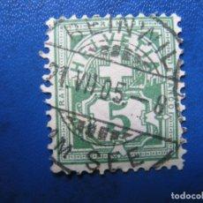 Sellos: SUIZA, 1882 YVERT 66. Lote 170211076