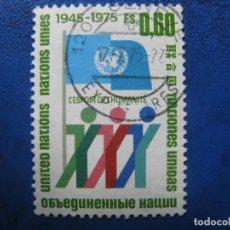 Sellos: SUIZA, 1975 NACIONES UNIDAS. Lote 170211480