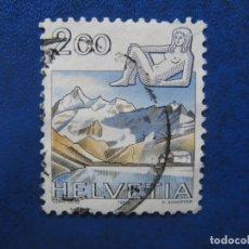 Sellos: SUIZA, 1988, SELLO USADO. Lote 170263892