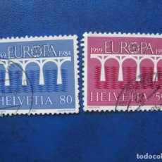 Sellos: SUIZA, 1984, EUROPA. Lote 170264008