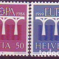 Sellos: SUIZA 1199/200 EUROPA CEPT. Lote 171336185