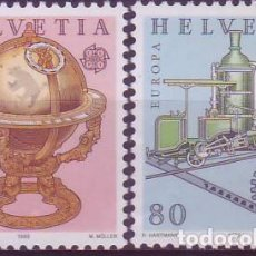 Sellos: SUIZA 1178/9. Lote 171652319