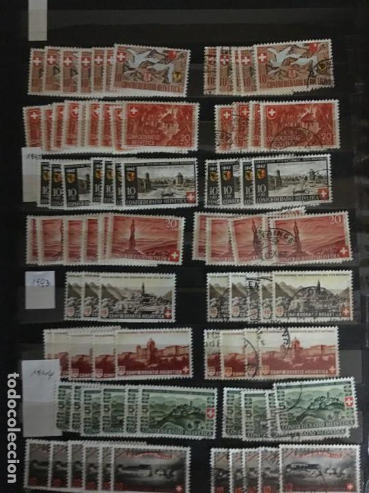 Sellos: SUIZA, 1938- 2007, LOTE DE SERIES DE PRO-PATRIA, SELLOS NUEVOS Y USADOS, (ALTO VALOR EN CATALOGO) - Foto 2 - 172025093