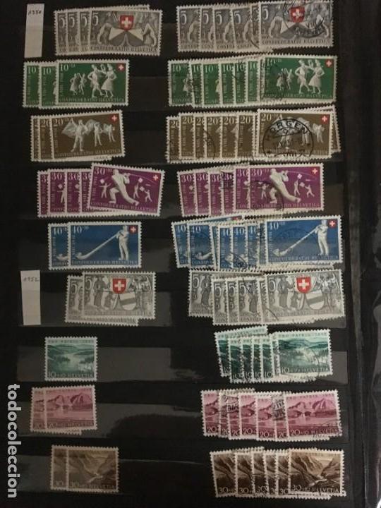 Sellos: SUIZA, 1938- 2007, LOTE DE SERIES DE PRO-PATRIA, SELLOS NUEVOS Y USADOS, (ALTO VALOR EN CATALOGO) - Foto 6 - 172025093