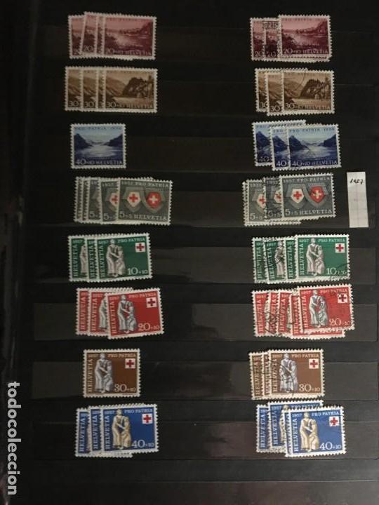 Sellos: SUIZA, 1938- 2007, LOTE DE SERIES DE PRO-PATRIA, SELLOS NUEVOS Y USADOS, (ALTO VALOR EN CATALOGO) - Foto 9 - 172025093