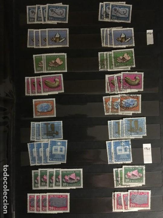 Sellos: SUIZA, 1938- 2007, LOTE DE SERIES DE PRO-PATRIA, SELLOS NUEVOS Y USADOS, (ALTO VALOR EN CATALOGO) - Foto 11 - 172025093