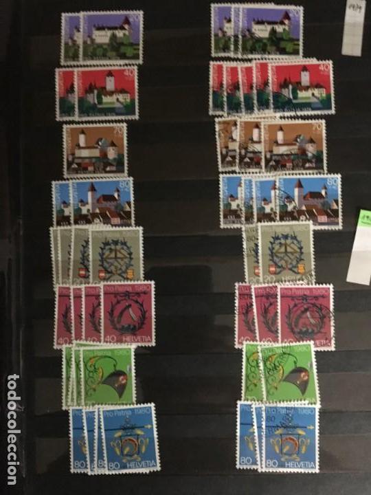 Sellos: SUIZA, 1938- 2007, LOTE DE SERIES DE PRO-PATRIA, SELLOS NUEVOS Y USADOS, (ALTO VALOR EN CATALOGO) - Foto 21 - 172025093