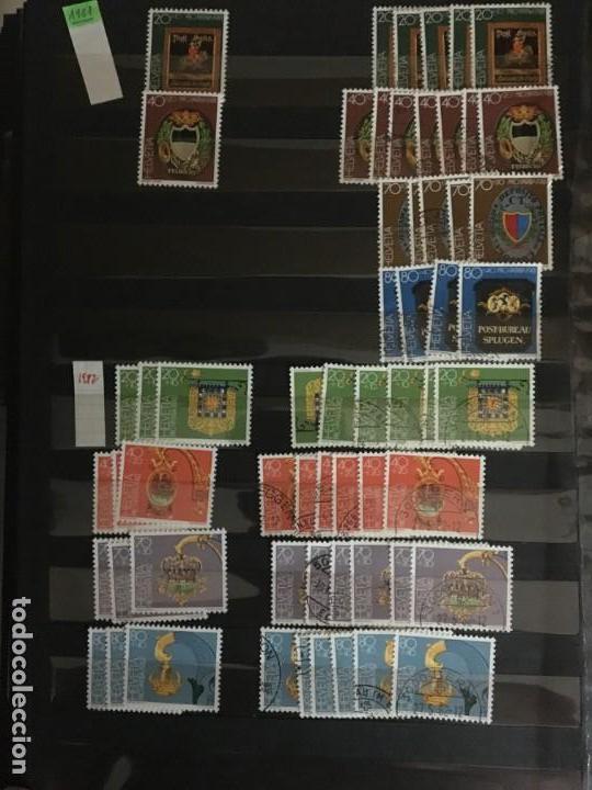 Sellos: SUIZA, 1938- 2007, LOTE DE SERIES DE PRO-PATRIA, SELLOS NUEVOS Y USADOS, (ALTO VALOR EN CATALOGO) - Foto 22 - 172025093