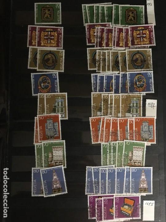 Sellos: SUIZA, 1938- 2007, LOTE DE SERIES DE PRO-PATRIA, SELLOS NUEVOS Y USADOS, (ALTO VALOR EN CATALOGO) - Foto 23 - 172025093
