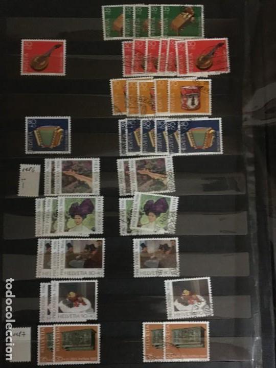 Sellos: SUIZA, 1938- 2007, LOTE DE SERIES DE PRO-PATRIA, SELLOS NUEVOS Y USADOS, (ALTO VALOR EN CATALOGO) - Foto 24 - 172025093