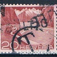 Sellos: SUIZA 1949 SELLO USADO YVES 485. Lote 177008538