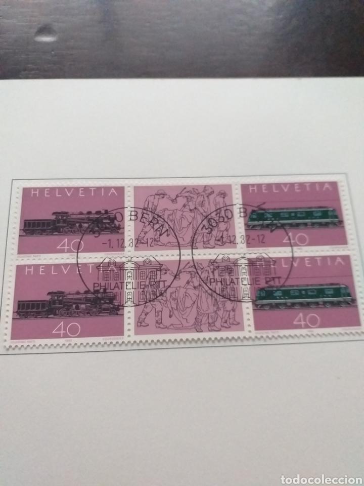 Sellos: Carpeta con sellos Helvetia - Foto 3 - 178285502