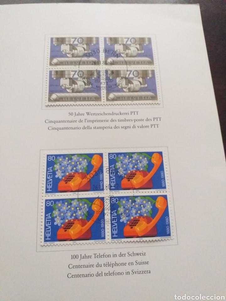Sellos: Carpeta con sellos de Helvetia - Foto 4 - 178285826