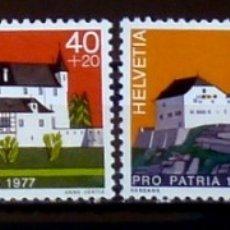 Sellos: SELLOS SUIZA 1977- FOTO 020 - Nº 1026, NUEVO COMPLETA. Lote 182356212