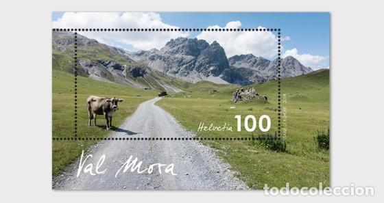 SWITZERLAND 2019 - TYPICAL SWISS COUNTRYSIDE - VAL MORA - M/S MINY (Sellos - Extranjero - Europa - Suiza)