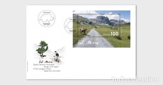 SWITZERLAND 2019 - TYPICAL SWISS COUNTRYSIDE - VAL MORA FDC (Sellos - Extranjero - Europa - Suiza)
