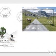 Sellos: SWITZERLAND 2019 - TYPICAL SWISS COUNTRYSIDE - VAL MORA FDC. Lote 183868946
