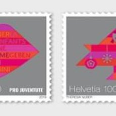 Sellos: SWITZERLAND 2019 - PRO JUVENTUTE – 30 YEARS CHILDREN'S RIGHTS STAMP SET MNH. Lote 183869155