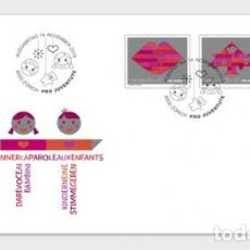 Sellos: SWITZERLAND 2019 - PRO JUVENTUTE – 30 YEARS CHILDREN'S RIGHTS FDC. Lote 183869173