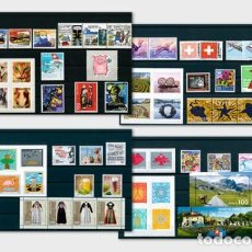 Sellos: SWITZERLAND 2019 - YEAR SET 2019 - MINT - YEAR COLLECTIONS. Lote 185738820