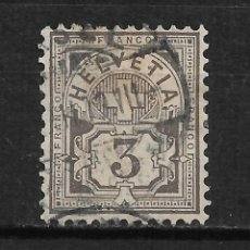 Sellos: SUIZA 1882 SCOTT 70 - 17/15. Lote 185875998