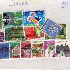 Sellos: LOTE DE 16 SELLOS USADOS SUIZA. Lote 189964046