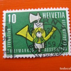 Timbres: -SUIZA 1959, YVERT 622. Lote 190705992