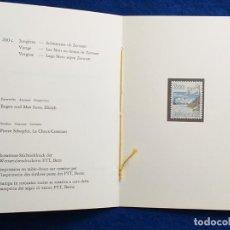 Sellos: SUIZA. HELVETIA, 1983. DOCUMENTO DEL 1 DIA. SELLO SIGNO SODIACAL VIRGO. YVERT 1193. Lote 190785941
