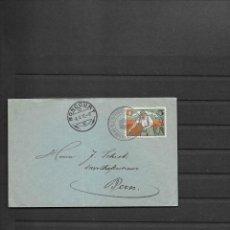 Sellos: SUIZA CORREO MILITAR 1917 SOBRE CIRCULADO DE BONCOURT A BERNA. Lote 193552458