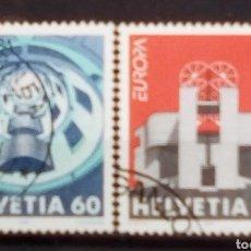 Timbres: SUIZA TEMA EUROPA CEPT SERIE DE SELLOS USADOS. Lote 193804971