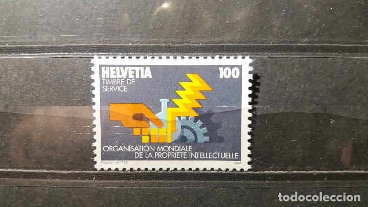 SELLO NUEVO. ORGANIZACIÓN MUDIAL PROPIEDAD INTELECTUAL. 27 MAYO 1982. YVERT S459. (Sellos - Extranjero - Europa - Suiza)
